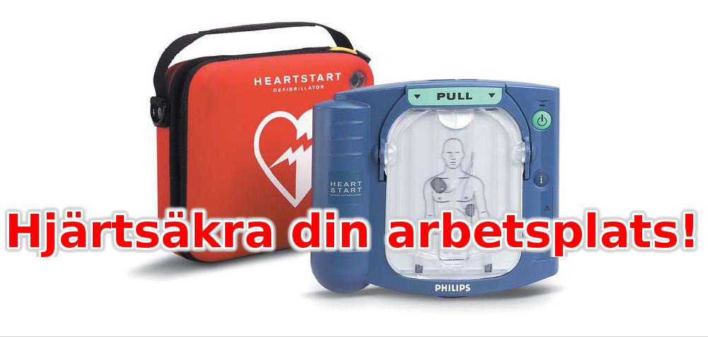 Hyr marknadens ledande hjärtstartare - från 279 kronor per månad!